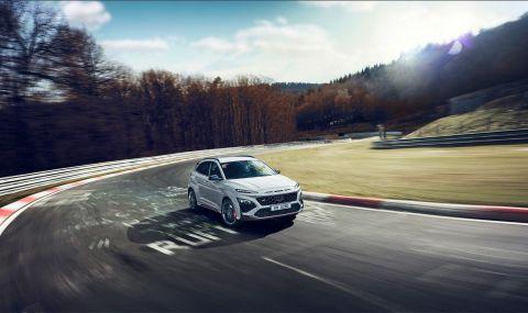 Hyundai представи най-мощнатa Коna  - 3