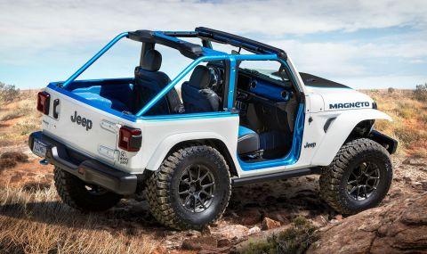 Изцяло електрически Jeep пристига през 2023 година - 1