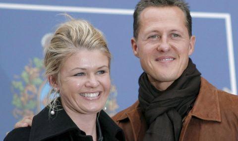 След многогодишно мълчание: Съпругата и синът на Михаел Шумахер говориха за него - 1