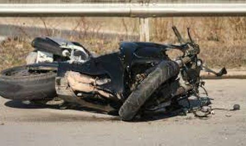 Моторист издъхна в болницата след катастрофа край Садово - 1