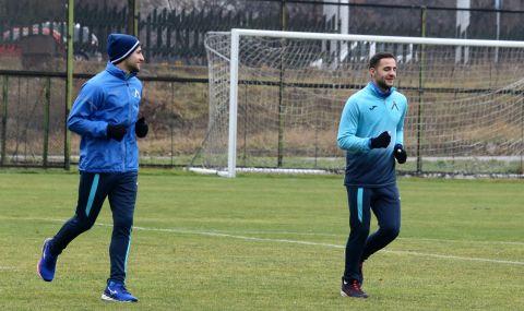 Близнаците започнаха тренировки с Левски