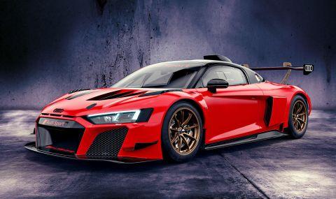 Audi показа цветни състезателни R8-ци с цена от 350 хиляди евро - 2