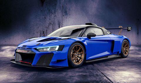 Audi показа цветни състезателни R8-ци с цена от 350 хиляди евро - 3