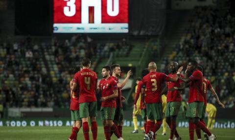 Португалия разби Швеция при отсъствието на Роналдо