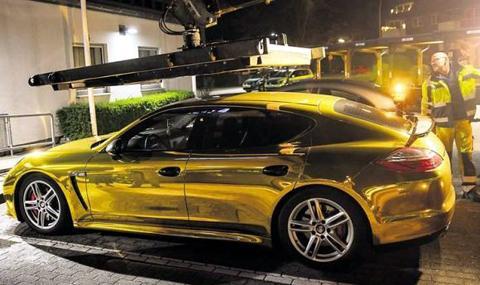В Германия спират от движение златни коли