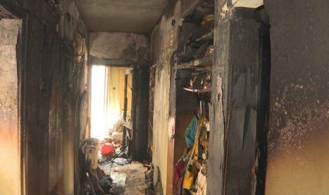 Възрастен мъж загина при пожар във Враца - 1