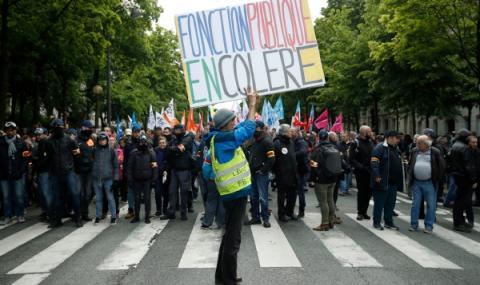 Нов ден на протести във Франция
