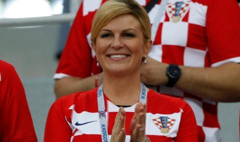 Светът полудя по формите на хърватската президентка (СНИМКИ)