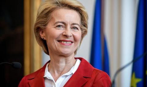 Урсула фон дер Лайен с важно послание към Северна Македония