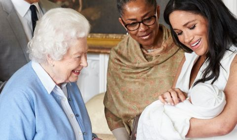 Меган и Арчи говорили с Кралицата преди погребението на принц Филип