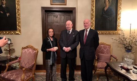 """Великият магистър на Малтийския орден посети """"Врана"""""""