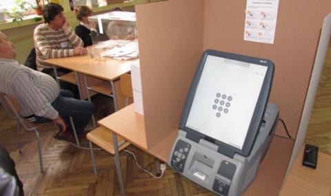 10 000 машини са необходими за машинното гласуване