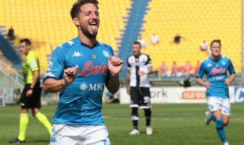 Наполи започна убедително новия сезон в Серия