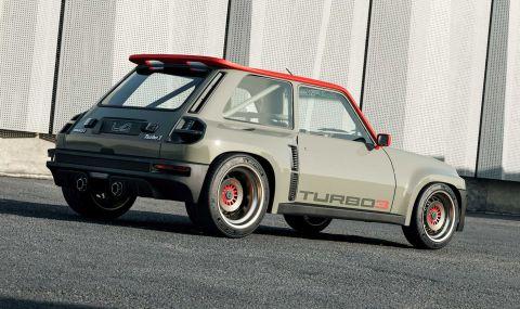 Възроденото Renault 5 Turbo дебютира с класически дизайн и нови технологии - 2
