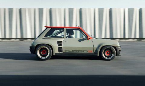 Възроденото Renault 5 Turbo дебютира с класически дизайн и нови технологии - 3