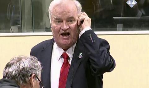Доживотен затвор за Ратко Младич
