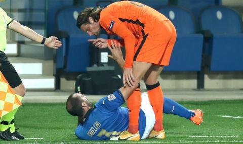 Италия и Нидерландия не успяха да се победят