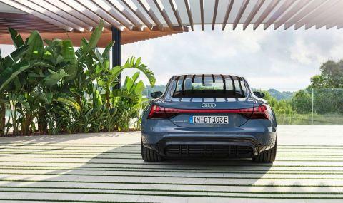 Audi представи електрическия E-Tron GT заедно с най-мощната RS версия - 5