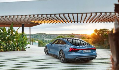 Audi представи електрическия E-Tron GT заедно с най-мощната RS версия - 6