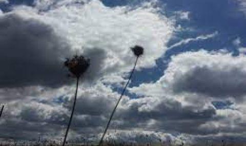Разкъсана облачност, вятър от североизток