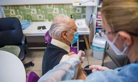 Франция започна да ваксинира срещу COVID-19 хора над 75 години и хронично болни