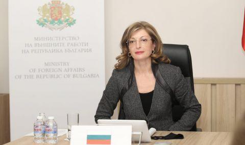 Екатерина Захариева осъди арестите на мирни граждани в Русия