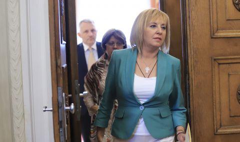 """Мая Манолова: Ще подкрепим кабинет на """"Има такъв народ"""", но без ГЕРБ и ДПС в него - 1"""