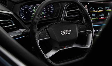 Audi представи електрическото Q4 с различен дизайн и нова платформа - 12