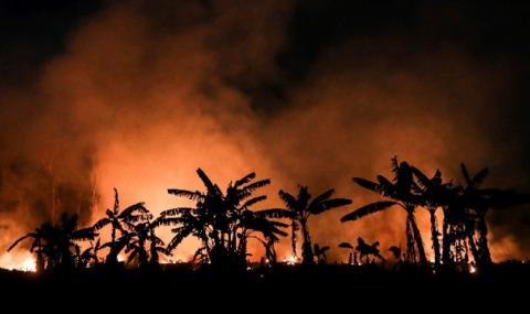 В бразилска Амазония бушуват най-големите пожари от 13 години