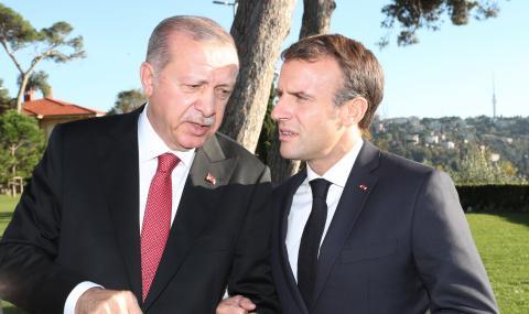 Макрон: Ердоган дестабилизира Европа