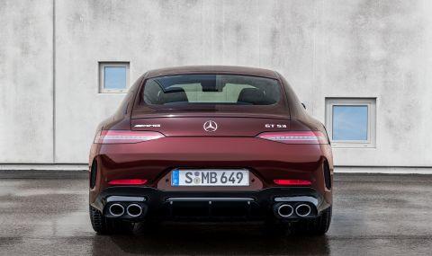 Mercedes обнови AMG GT 4-Door Coupe за 2022 година - 4