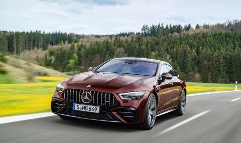 Mercedes обнови AMG GT 4-Door Coupe за 2022 година - 5