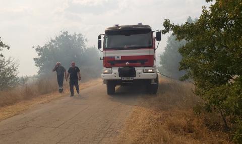 Удължиха бедственото положение в Свиленградско заради огромния пожар