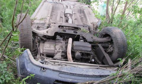 20-годишен се преобърна с лек автомобил в Кърджалийско