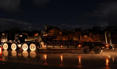 Турция трупа бойна сила в Идлиб