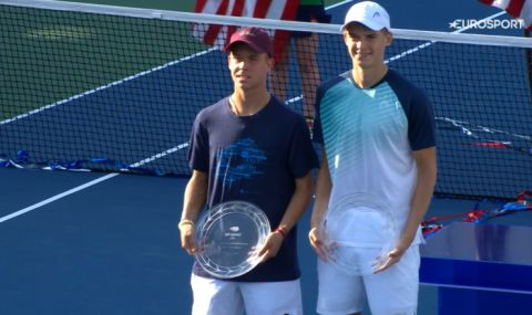 Жалко. Нестеров и партньорът му се разминаха с титла на двойки на US Open - 1