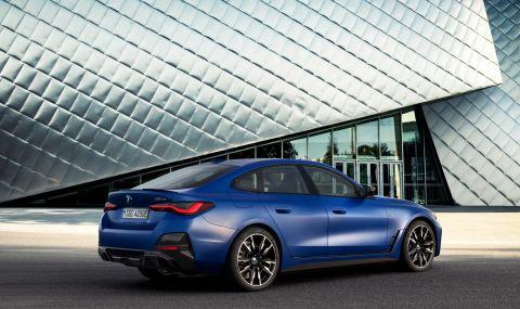 BMW представи първата М Performance електрическа кола - 4