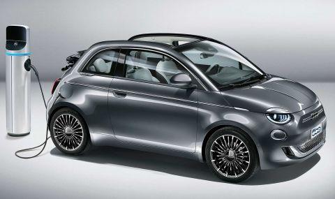 Fiat също ще разчита само на електрически модели
