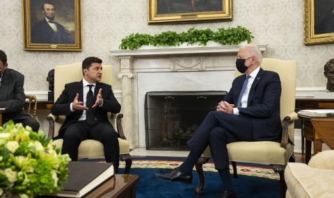 Джо Байдън: САЩ остават ангажирани с териториалната цялост на Украйна - 1