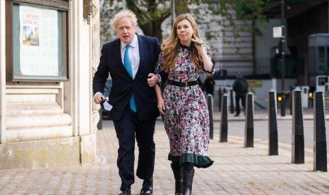 Борис Джонсън се ожени тайно