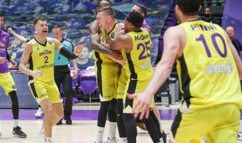 Академик Пловдив се бори, но загуби финала на Балканската лига