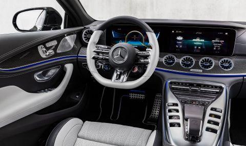 Mercedes обнови AMG GT 4-Door Coupe за 2022 година - 6