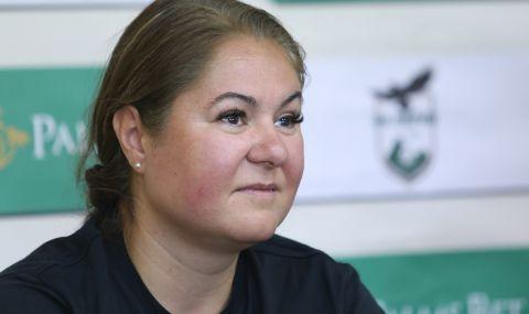 Новият директор в ЦСКА Ива Уорън: Ще покажа, че жените имат място и в българския футбол