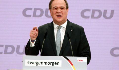 Армин Лашет спечели вота за мястото на Меркел