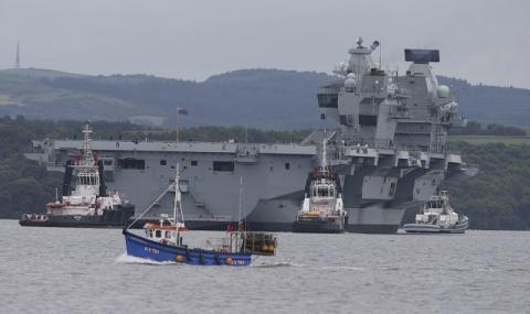 Британски моряци се изложиха в САЩ