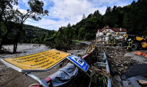 Ограбват магазини след наводненията в Германия