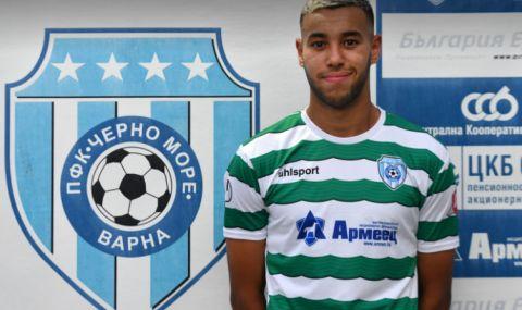 Сами Ел Анаби официално е футболист на Черно море - 1