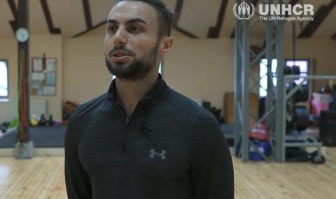 Как в България млад мъж си върна мечтите, отнети от войната в Сирия