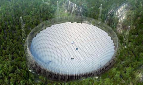 Най-големият наземен радиотелескоп в света вече работи