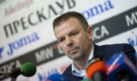 Стойчо Младенов: 25 футболисти са заразени с COVID-19